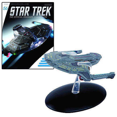 Star Trek Starships Saber Class Die-Cast Metal Vehicle with Collector Magazine