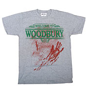 The Walking Dead Welcome To Woodbury Gray Heather T-Shirt