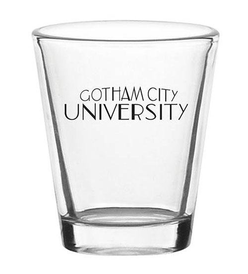 Batman: Animated Series Gotham State University Shot Glass