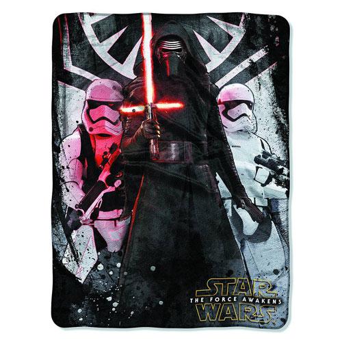 Star Wars VII First Order Micro Raschel Throw Blanket