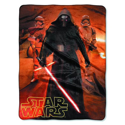 Star Wars VII Force Trio Silk Touch Throw Blanket