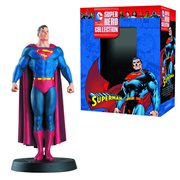 DC Superhero Superman Best Of Collector Figure with Magazine