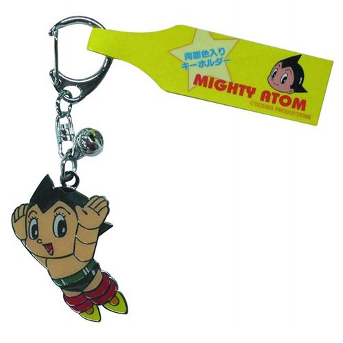 Astro Boy Flying Atom Stamped Key Chain
