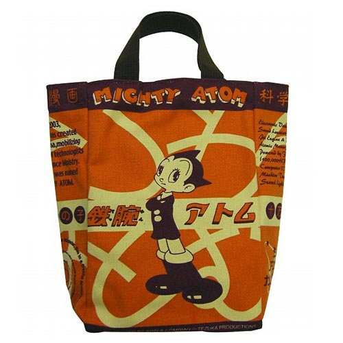 Astro Boy Student Atom in School Uniform Tote Bag