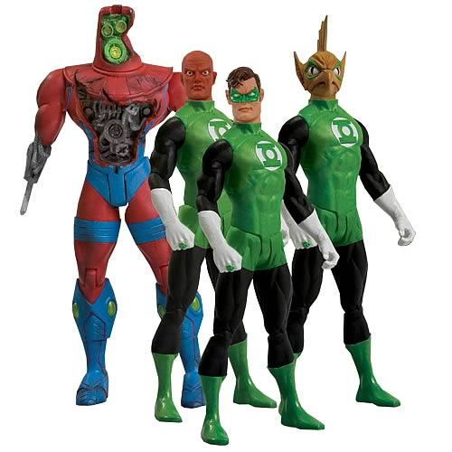 Green Lantern Action Figures Box Set