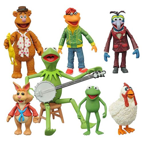 The Muppets Select Action Figures Multi-Pack Series 1 Set