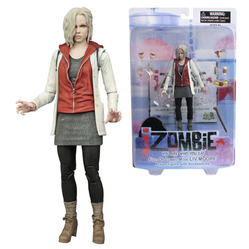 iZombie Power Up Liv Moore Previews Exclusive Action Figure