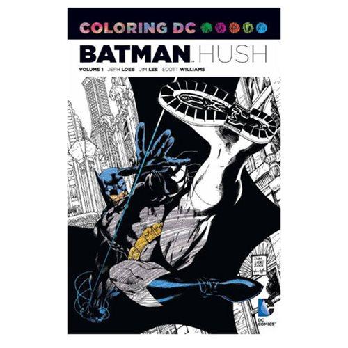 Batman: Hush Coloring Book - DC Comics - Batman - Books at ...