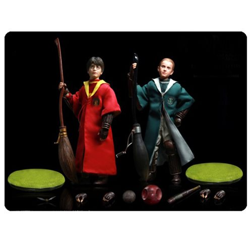 Harry Potter Quidditch Draco and Harry Action Figure 2-Pack