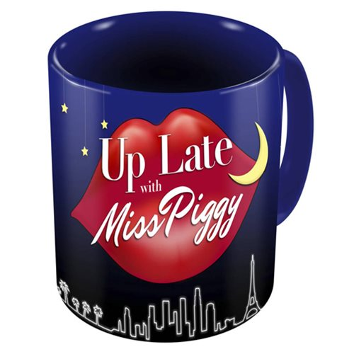 The Muppets Up Late With Miss Piggy 11 oz. Mug