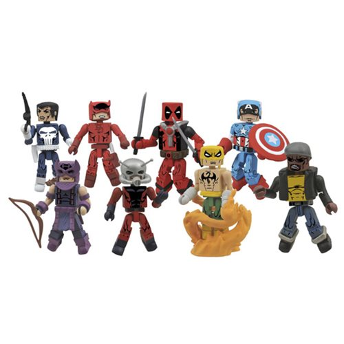 Marvel Minimates Greatest Hits Series 2 Set