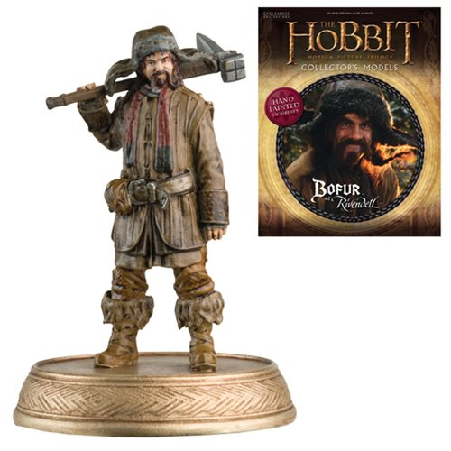 The Hobbit Bofur Figure with Collector Magazine