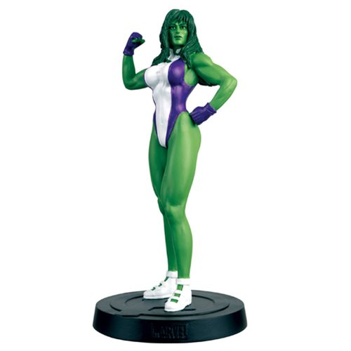 Marvel Fact Files Special #13 She-Hulk Figure with Magazine