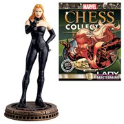 Marvel Lady Mastermind Black Pawn Chess Piece with Magazine