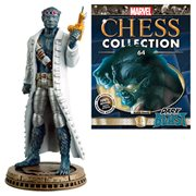 Marvel Dark Beast Black Pawn Chess Piece with Magazine