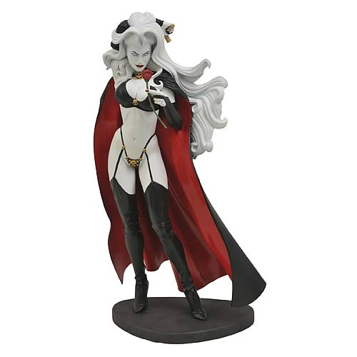 Femme Fatales Lady Death Statue