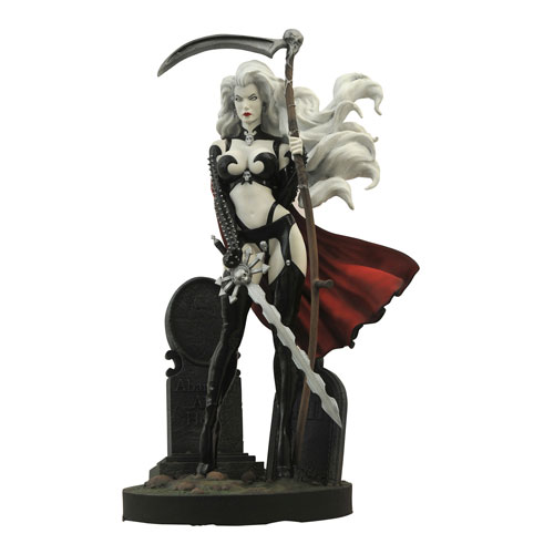 Femme Fatales Lady Death III Statue