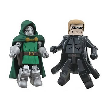 Marvel vs. Capcom Series 3 Doom and Wesker Minimates