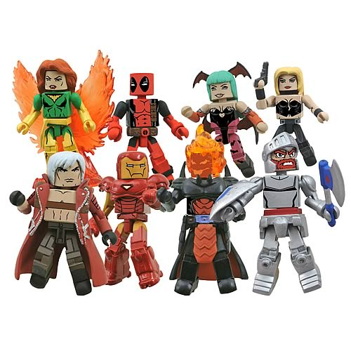 Marvel vs. Capcom Minimates Series 1 Set