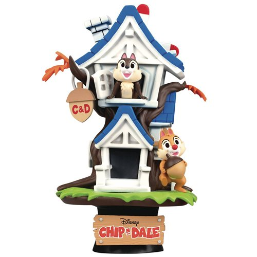 Disney Chip and Dale Treehouse D-Stage DS-028 Statue - Previews Exclusive
