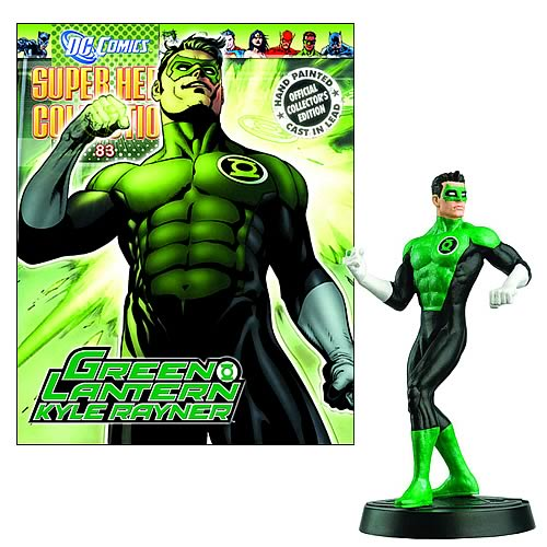 DC Superhero Kyle Rayner Collector Magazine with Figure