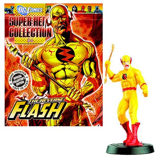 DC Superhero Reverse Flash Collector Magazine with Figure