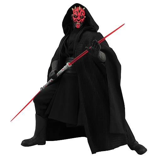 Star Wars Darth Maul Ultimate 1:4 Scale Figure with Sound