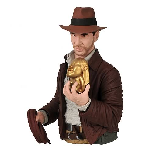 Indiana Joes Raiders of the Lost Ark Indiana Jones Bust Bank