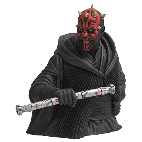 Star Wars Darth Maul Bust Bank
