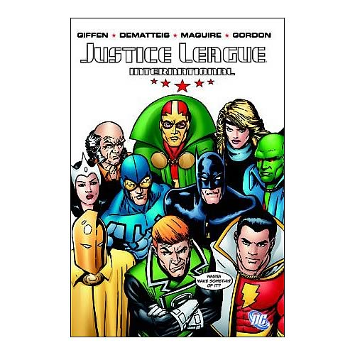 Justice League International Volume 1 Graphic Novel
