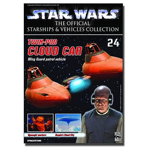 Star Wars Vehicles Collector Magazine with Cloud Car