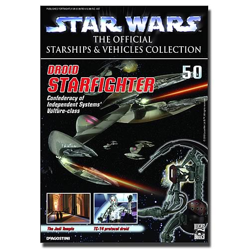 Star Wars Vehicles Collector Magazine with Droid Fighter