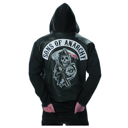 Sons of Anarchy Black Leather Highway Jacket