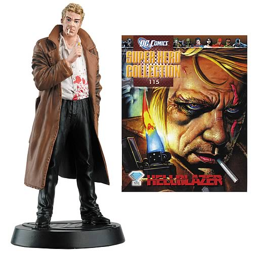 DC Superhero Hellblazer Collector Magazine with Figure