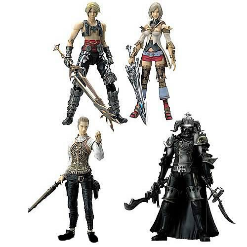 Final Fantasy XII Play Arts  Action Figure Set