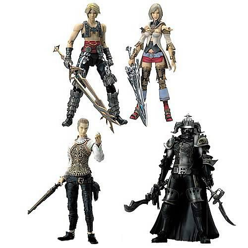 Final Fantasy XII Play Arts Action Figure Case