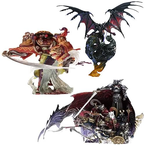 Final Fantasy Master Creatures 2 Wave 1 Figure Case