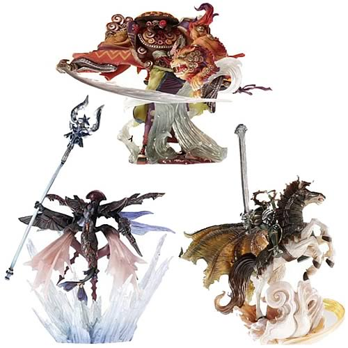 Final Fantasy Master Creatures 2 Wave 2 Figure Case