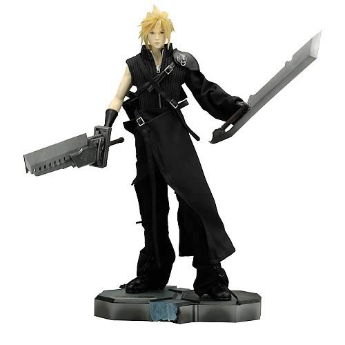 Final Fantasy Masterpiece Arts Cloud Strife Statue