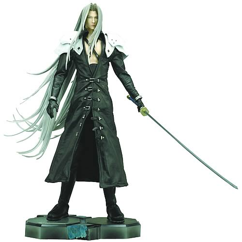 Final Fantasy Masterpiece Arts Sephiroth Statue
