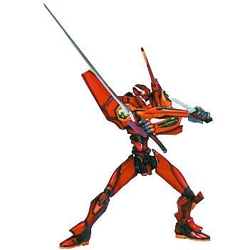 Neon Genesis Evangelion EVA-02 Red Repaint Action Figure