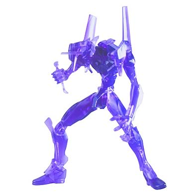 Neon Genesis Evangelion EVA-01 Purple Transparent Figure
