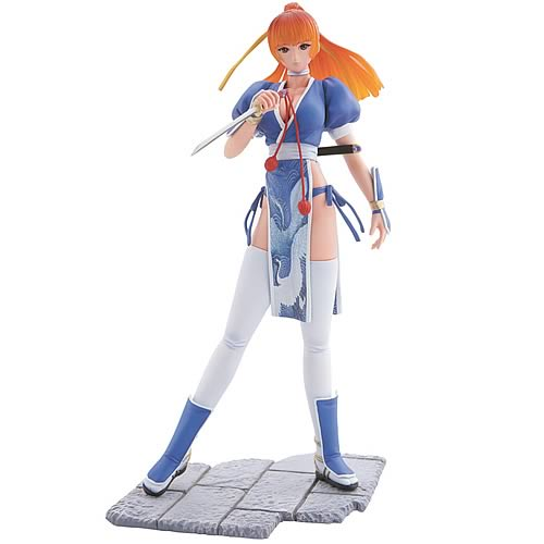 Bome Dead or Alive Kasumi Blue Dress Statue