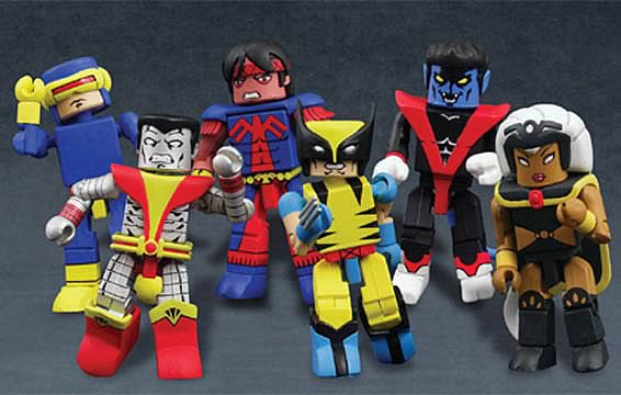 Giant Size X-Men Minimates Set