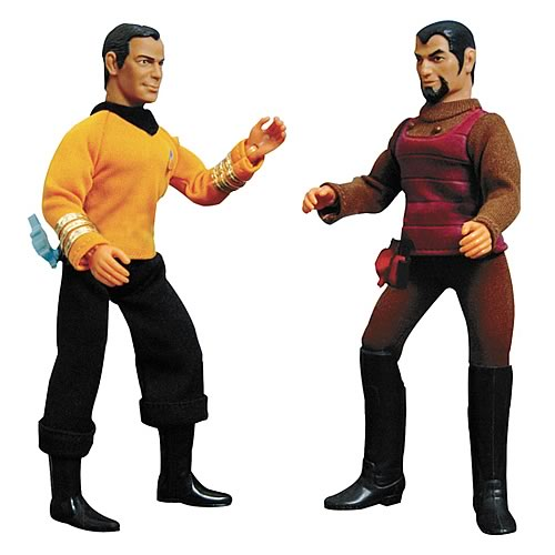 Star Trek Retro Series 1 Kirk & Klingon Action Figure Set