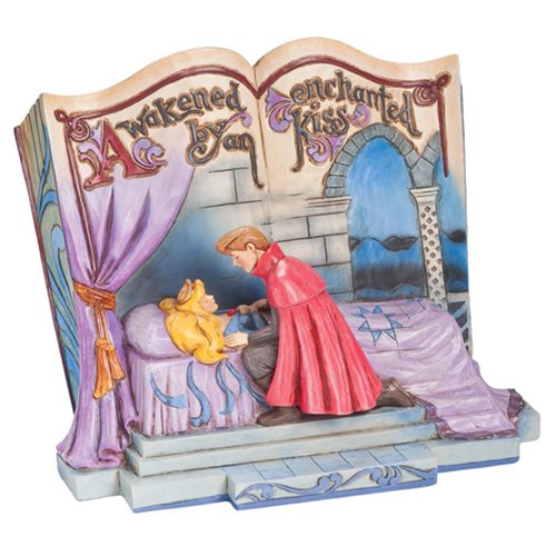 Disney Traditions Sleeping Beauty Storybook Statue