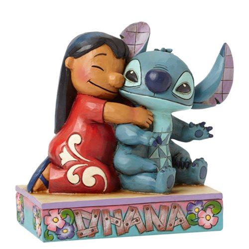 Disney Traditions Lilo & Stitch Ohana Statue