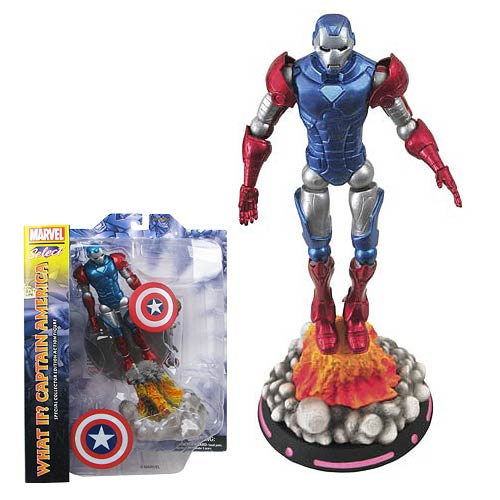 Marvel Select Captain America What If Action Figure