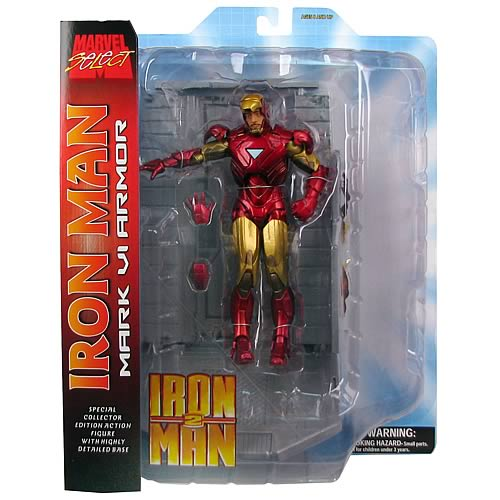 Marvel Select Iron Man 2 Action Figure