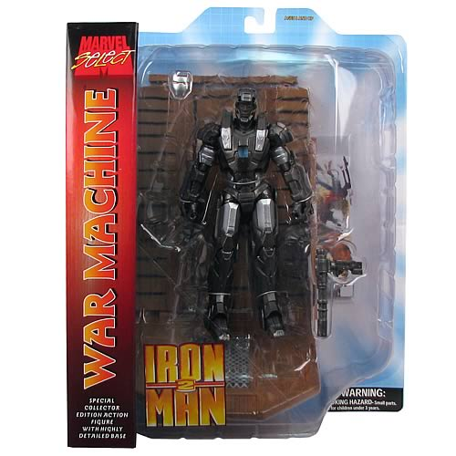 Iron Man 2 War Machine Marvel Select Action Figure
